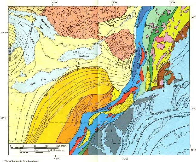 American Institute Of Professional Geologists Northeast Section - New york city elevation map
